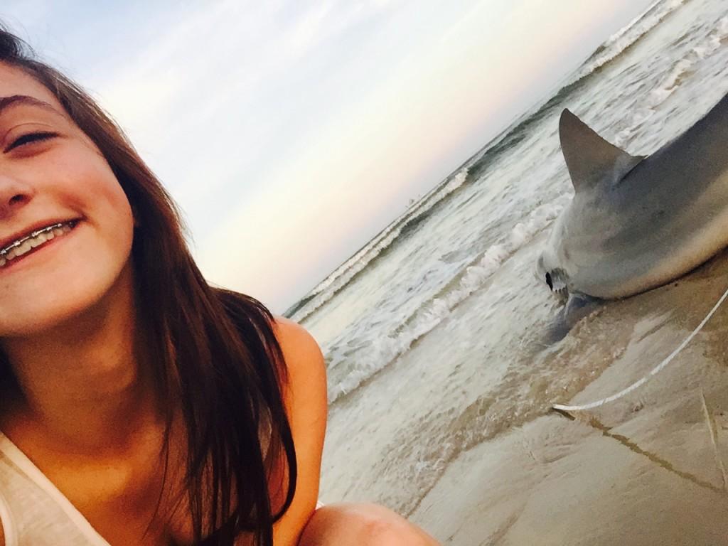 Shark Selfie.