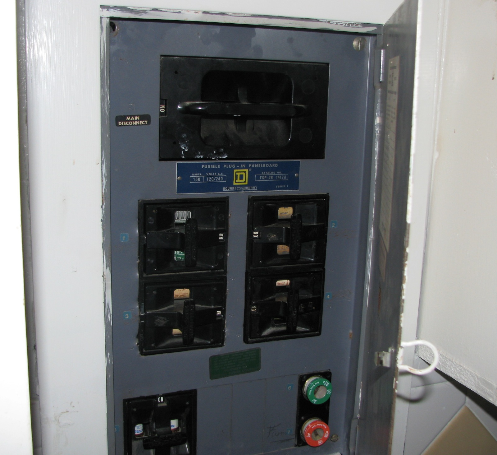 Fuses In Mobile Home Breaker Box Wiring Diagrams Outside Disconnect Diagram House Fuse Panel Cabinet Free Engine Image For User Clayton Typical